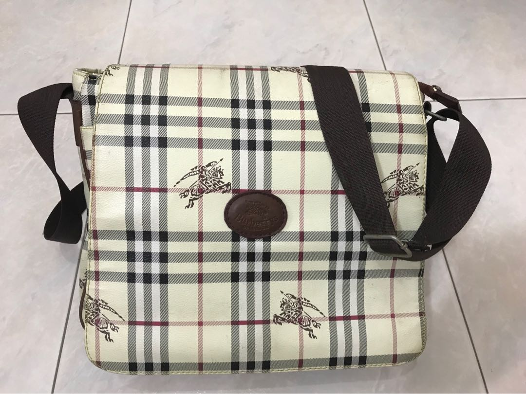 8e763370eca Burberry Sling Bag, Luxury, Bags   Wallets, Sling Bags on Carousell