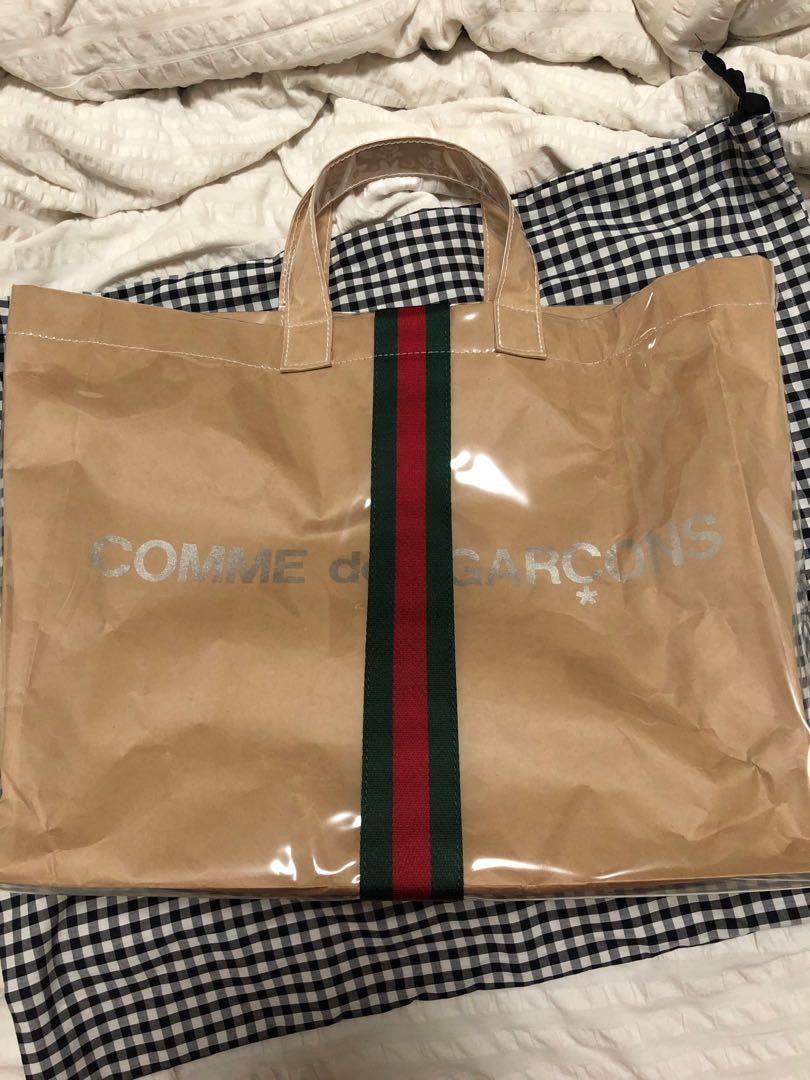 0af70d83a8e Cdg x Gucci tote bag