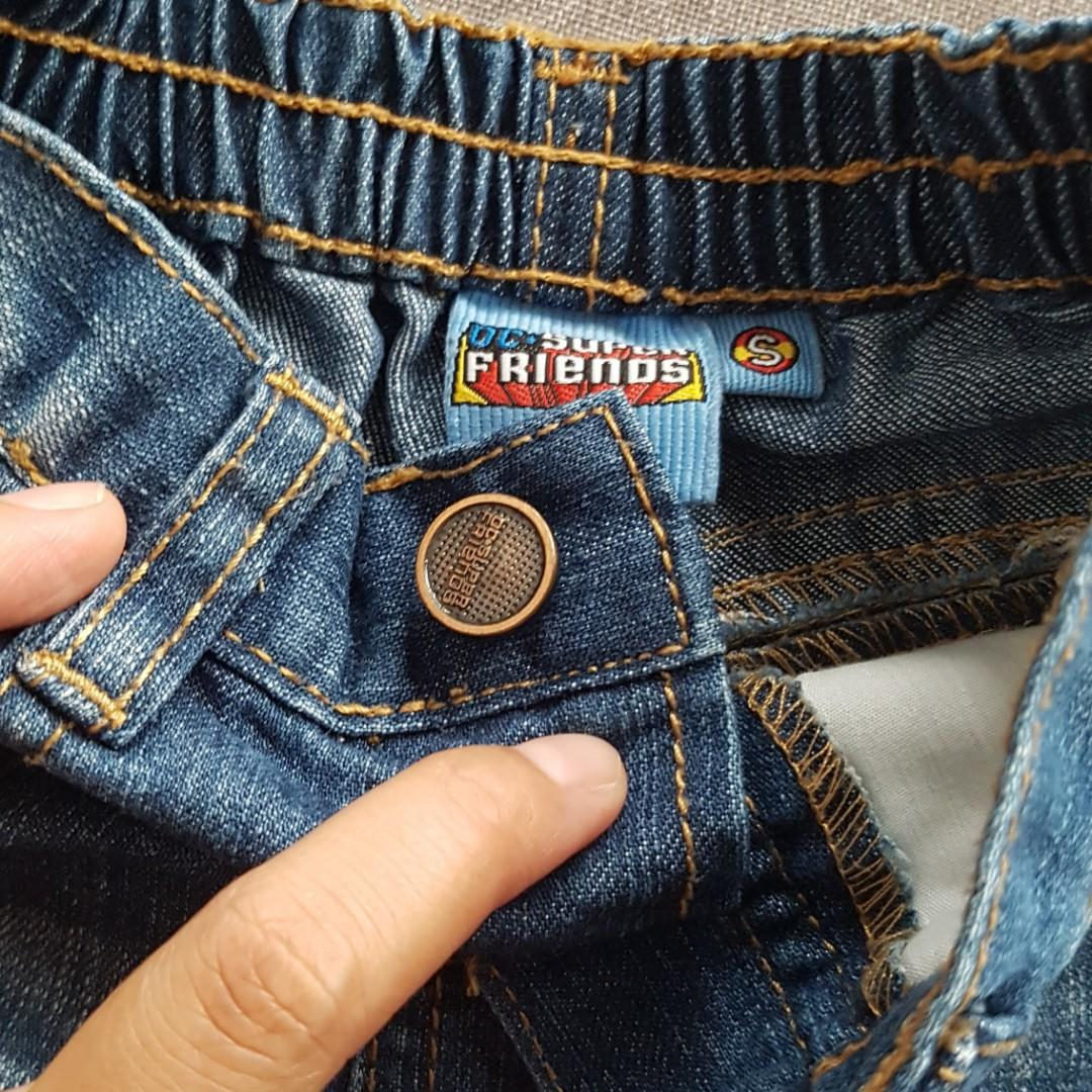 Celana pendek jeans DC Super Friends 0-6bln