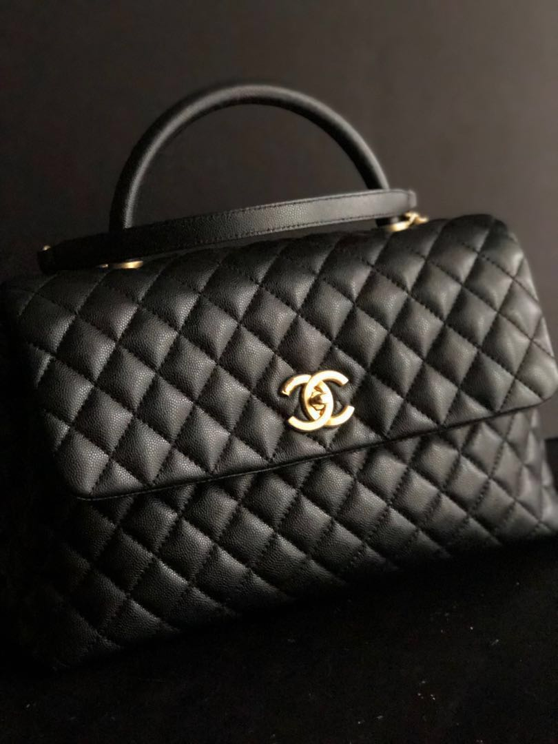e52a3fd41c56 Chanel Coco Handle (Medium Small Size), Women's Fashion, Bags ...
