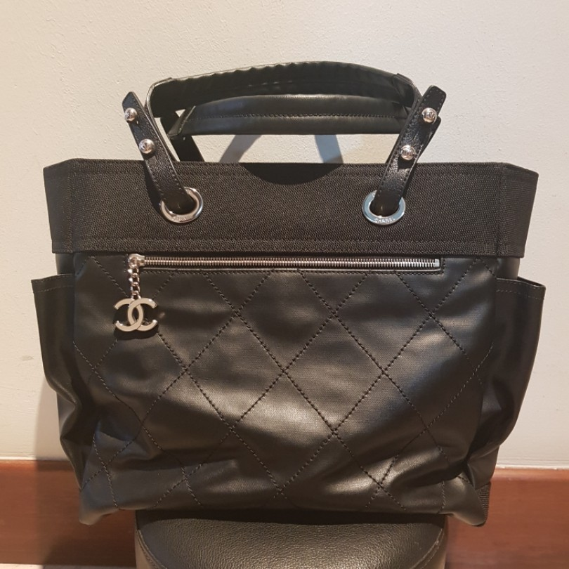 d142d78df Chanel Biarritz GM Tote Bag, Luxury, Bags & Wallets, Handbags on ...