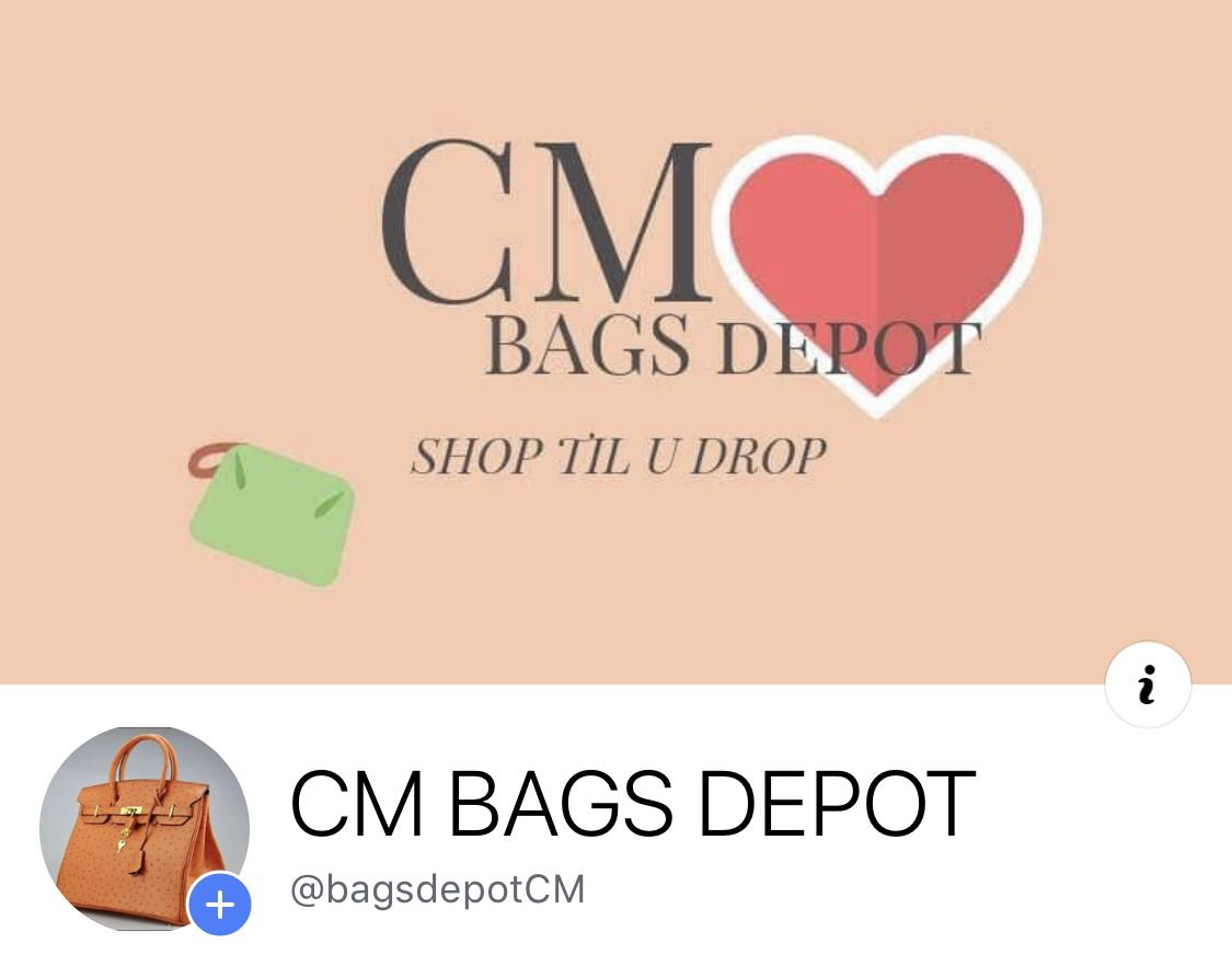 CHECK OUT MY FB STORE! CM BAGS DEPOT 318a515c89ec5
