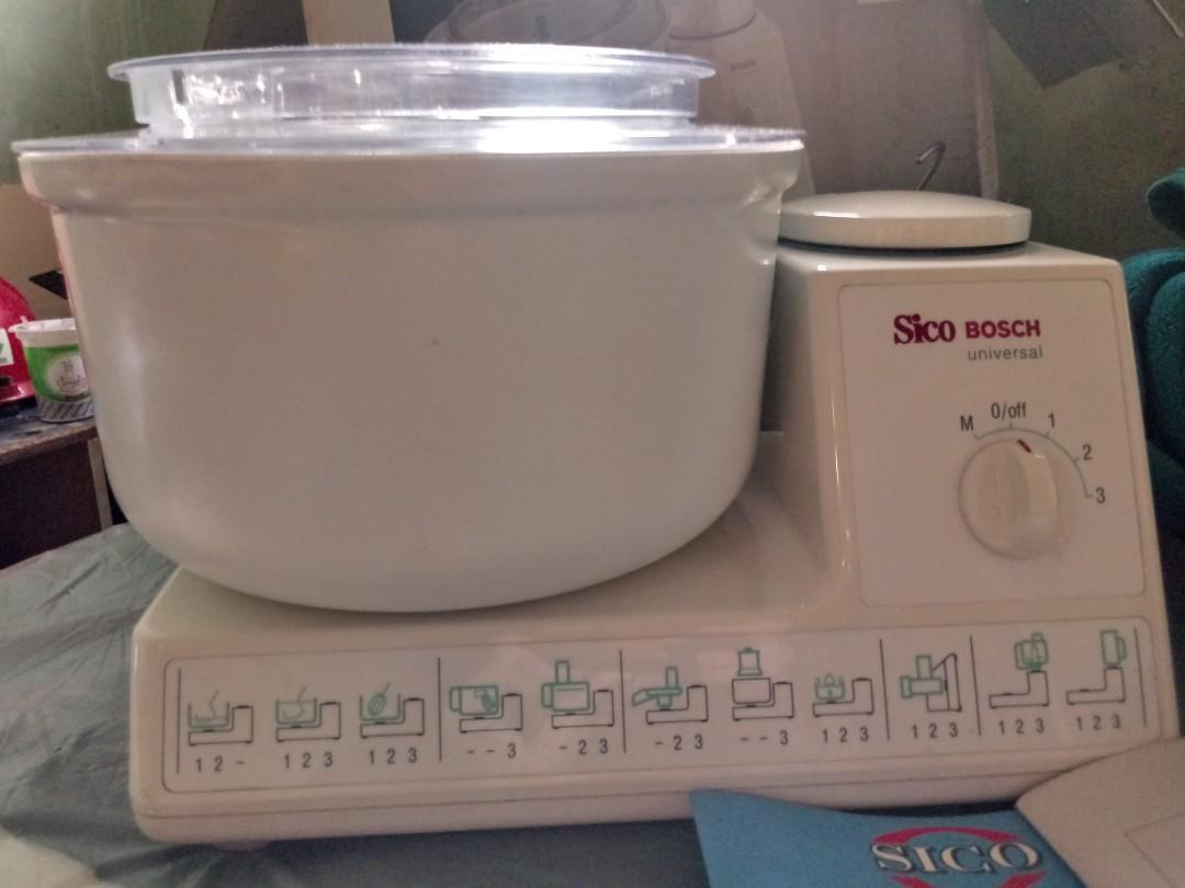 jual mixer roti bosch bekas