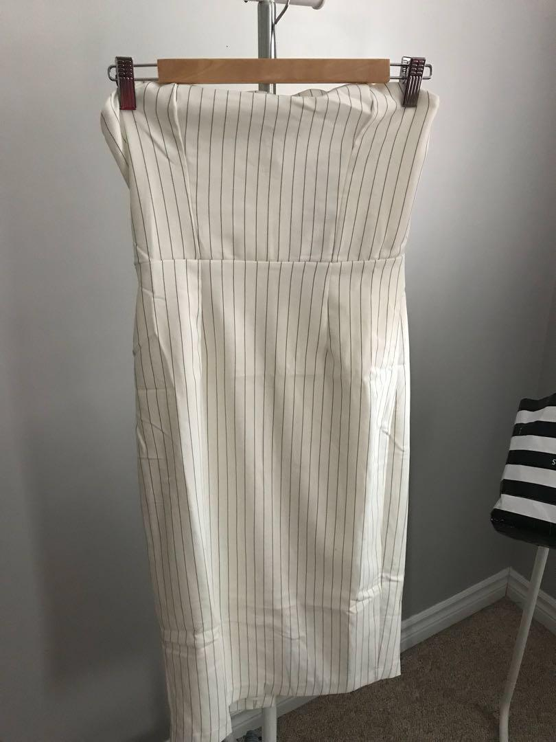 Dynamite Strapless Bodycon Dress