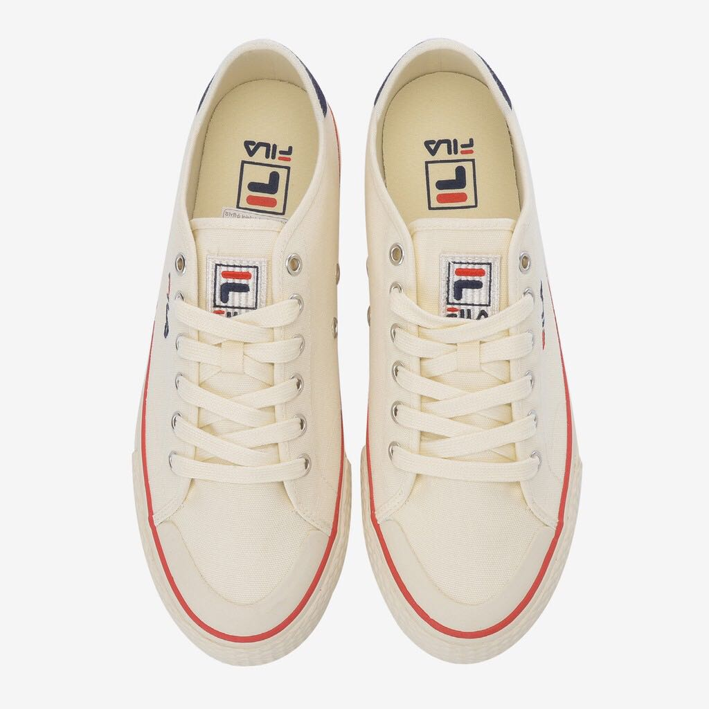 Fila sneakers in cream white 328b7e6c4ea