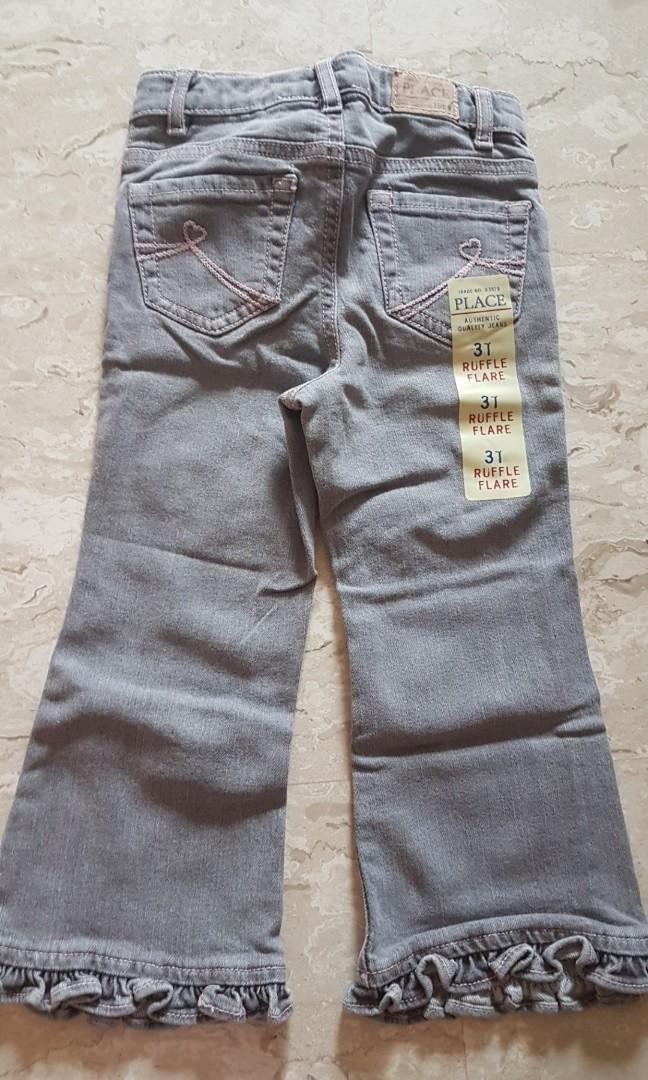 The Childrens Place Baby Girls Flare Jeans