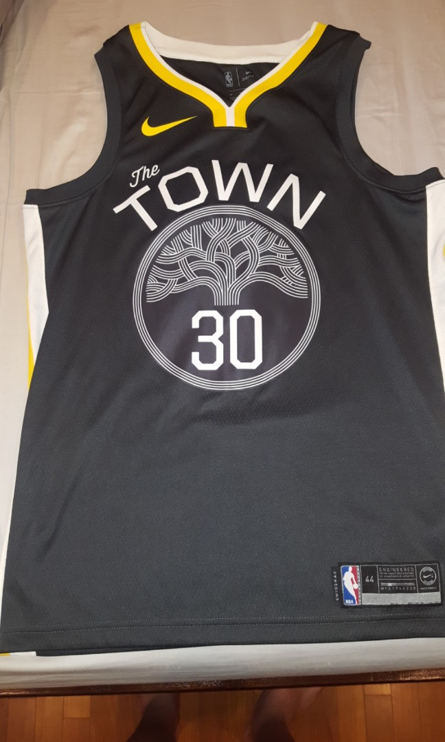 best sneakers 5c3fd 95864 GOLDEN STATE WARRIORS STEPH CURRY THE TOWN JERSEY, Sports ...