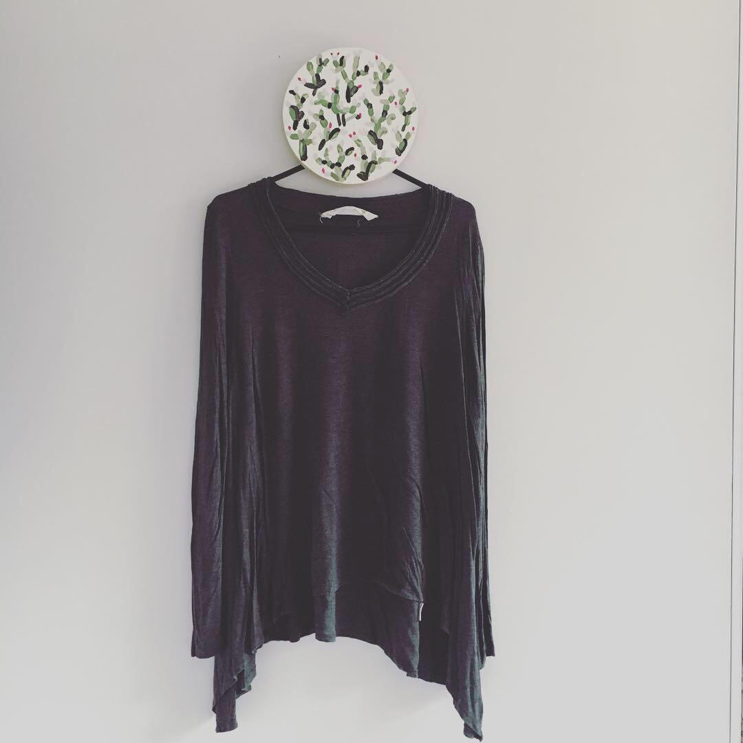 Grey Long Sleeved Soft Top | Brand: Seed | Size Medium | Some Pilling so Selling for just $5 + postage