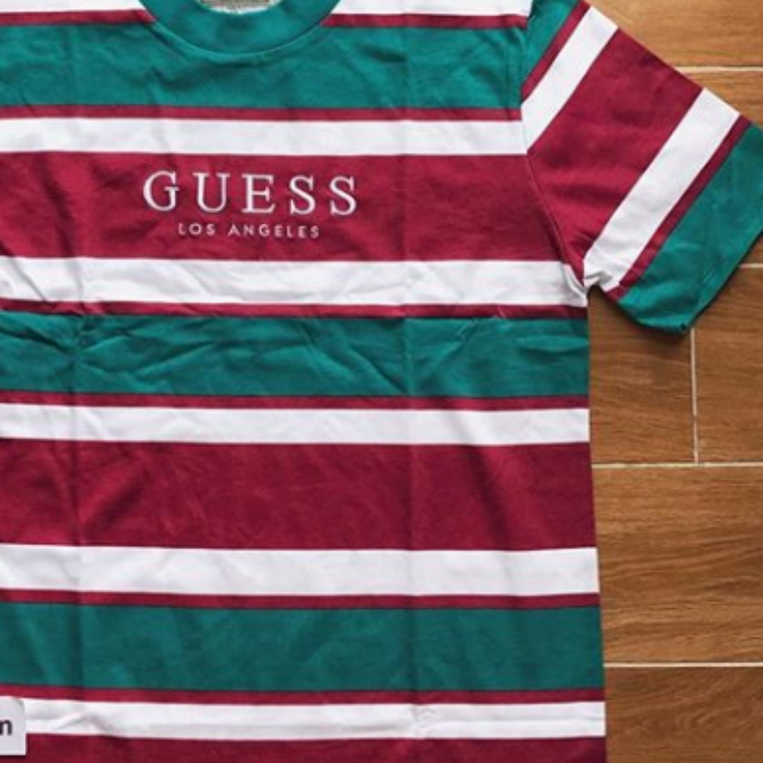 892cc4f390 CHEAPEST* GUESS ST JAMES STRIPED VINTAGE T SHIRT, Luxury, Apparel ...