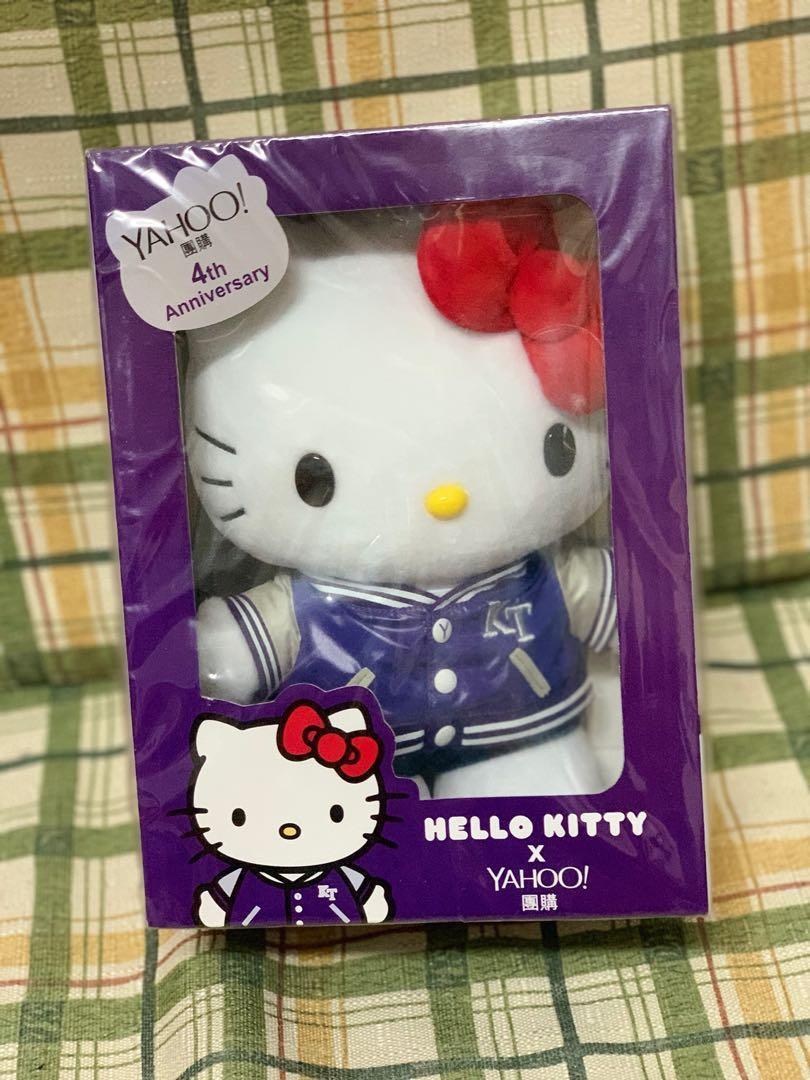 Hello Kitty x Yahoo 團購 4 週年別注版公仔 (22cm 高)