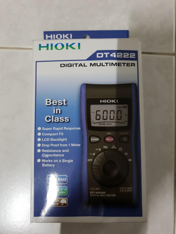 Hioki DMM Dt4222
