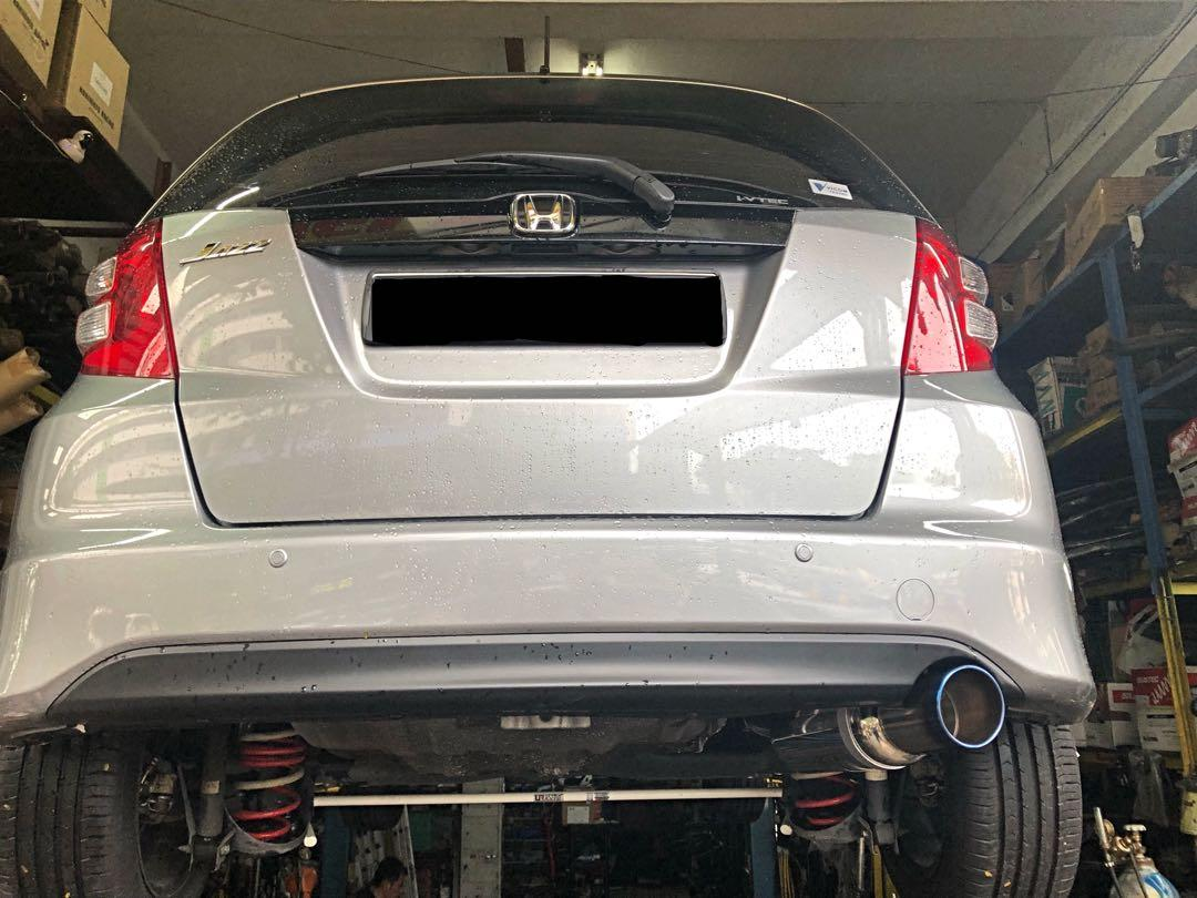 🌟HONDA FIT GE6 1.3 EXHAUST