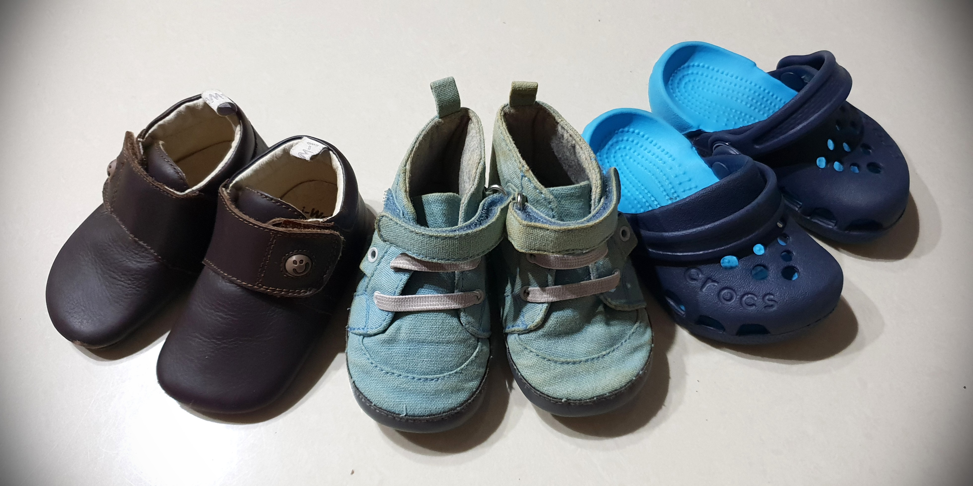 f3576475dbb58 Iwalk, pumpkin patch and baby crocs baby shoes