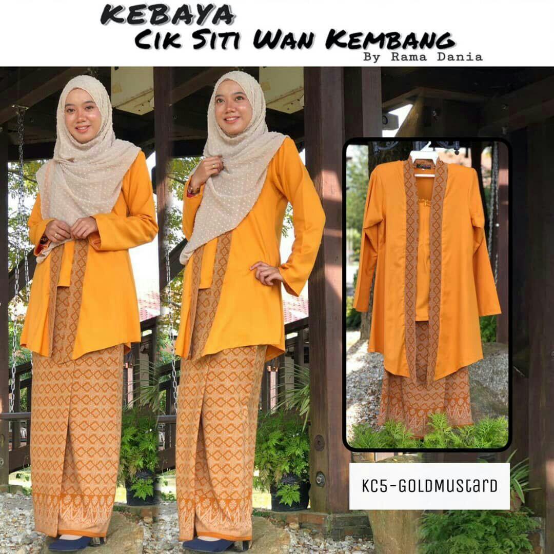 Kebaya Cik Siti Wan Kembang Women S Fashion Clothes Others On Carousell