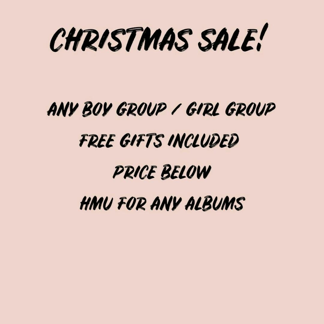 Kpop Album Sale