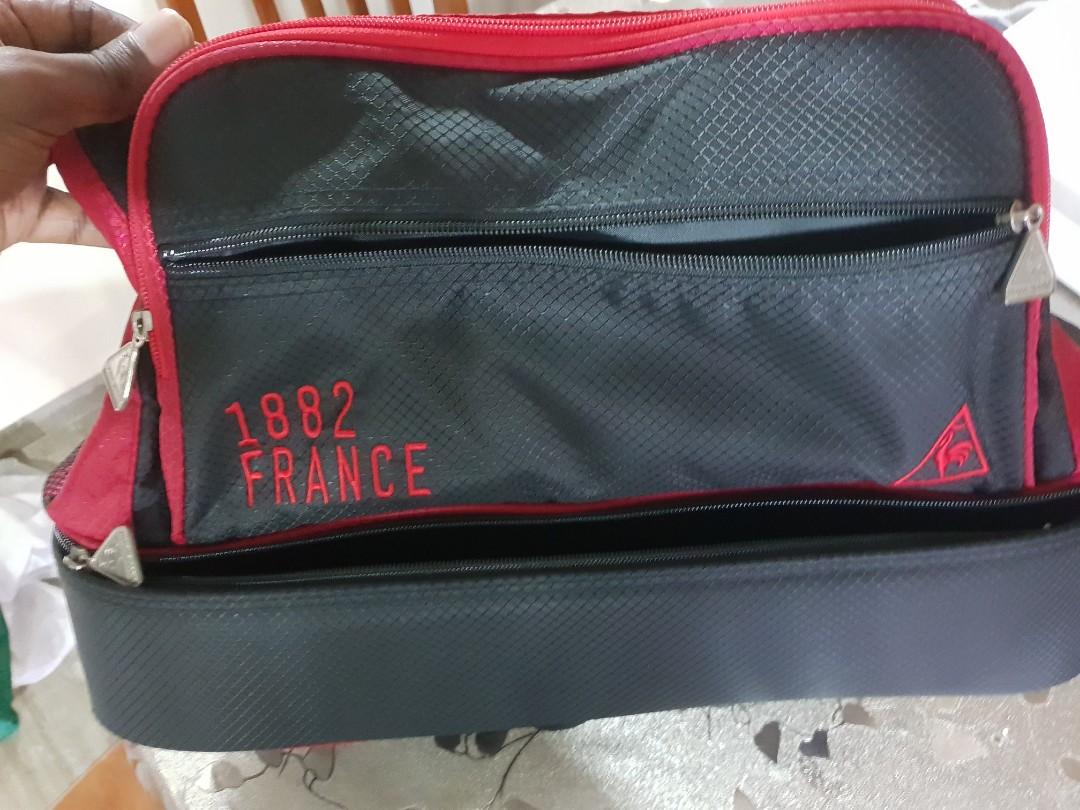 6791acafdef Le Coq Sportif Duffel Bag, Men's Fashion, Bags & Wallets, Sling Bags ...