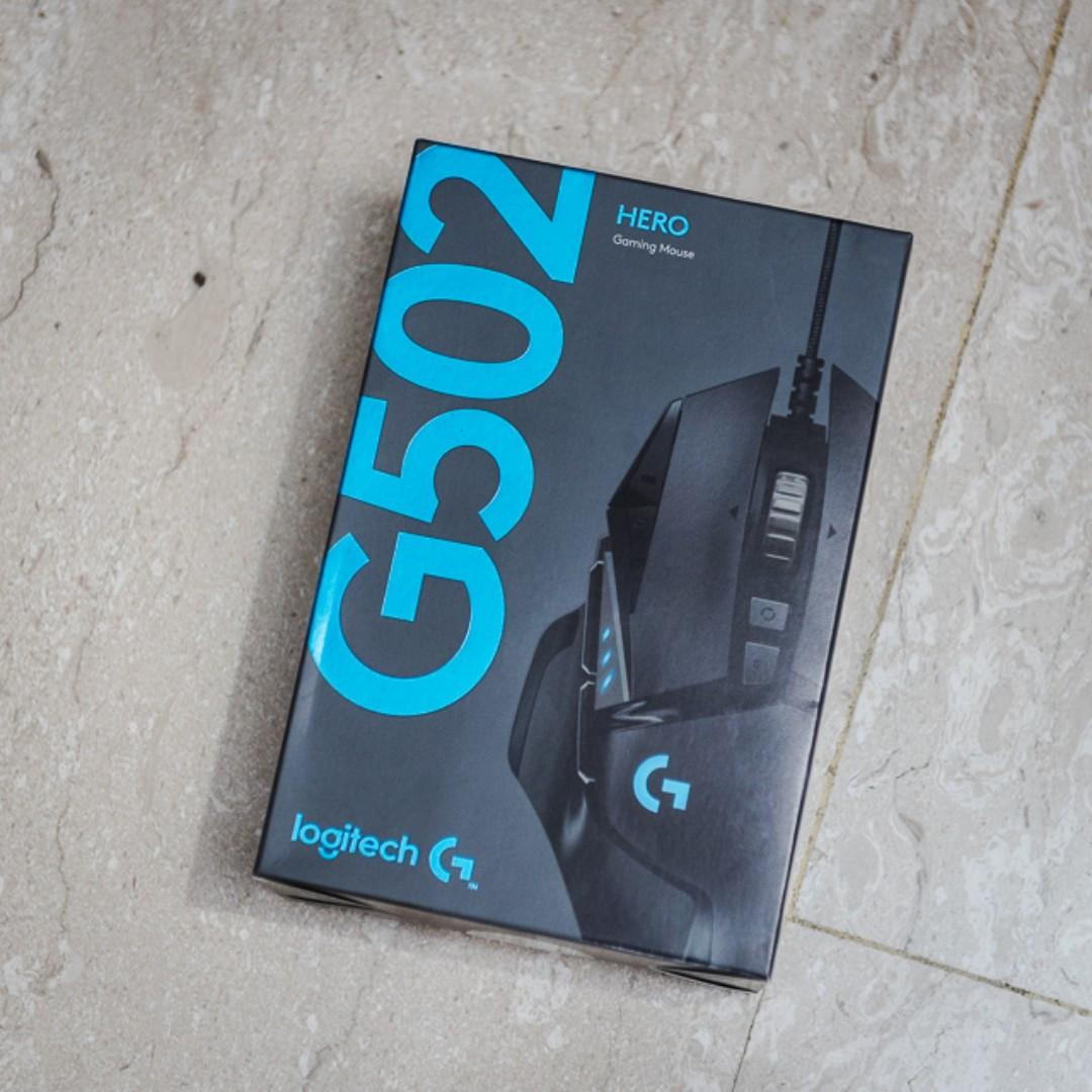 Logitech G502 Hero 16K Sensor Mouse, Electronics, Computer
