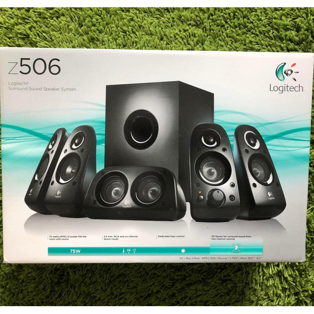 c26a2fd76a9 Logitech Z506 Surround Sound Speaker Z506, Electronics, Audio on Carousell