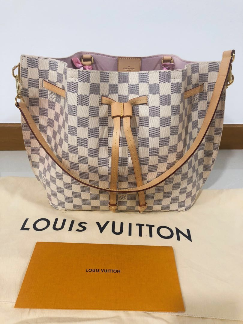 32657d00a7dd Louis Vuitton - Girolata Damier Azur Canvas