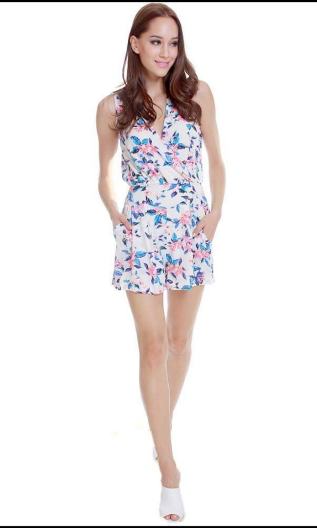 f9521a83259b MDSCOLLECTIONS MDS Springtime Floral Romper