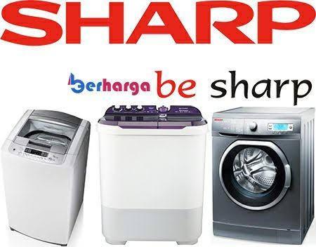 Mesin cuci Sharp top loading ES baru murah