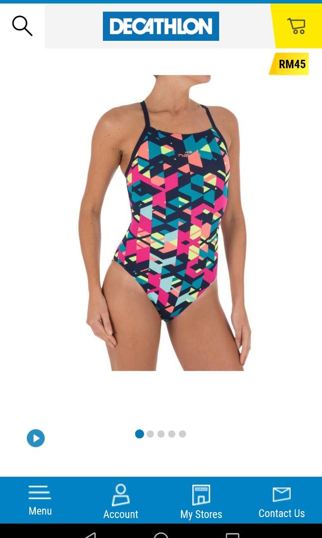 50964653317b0 Nabaiji Swimsuit Women Girls Decathlon, Sports, Sports Apparel on ...