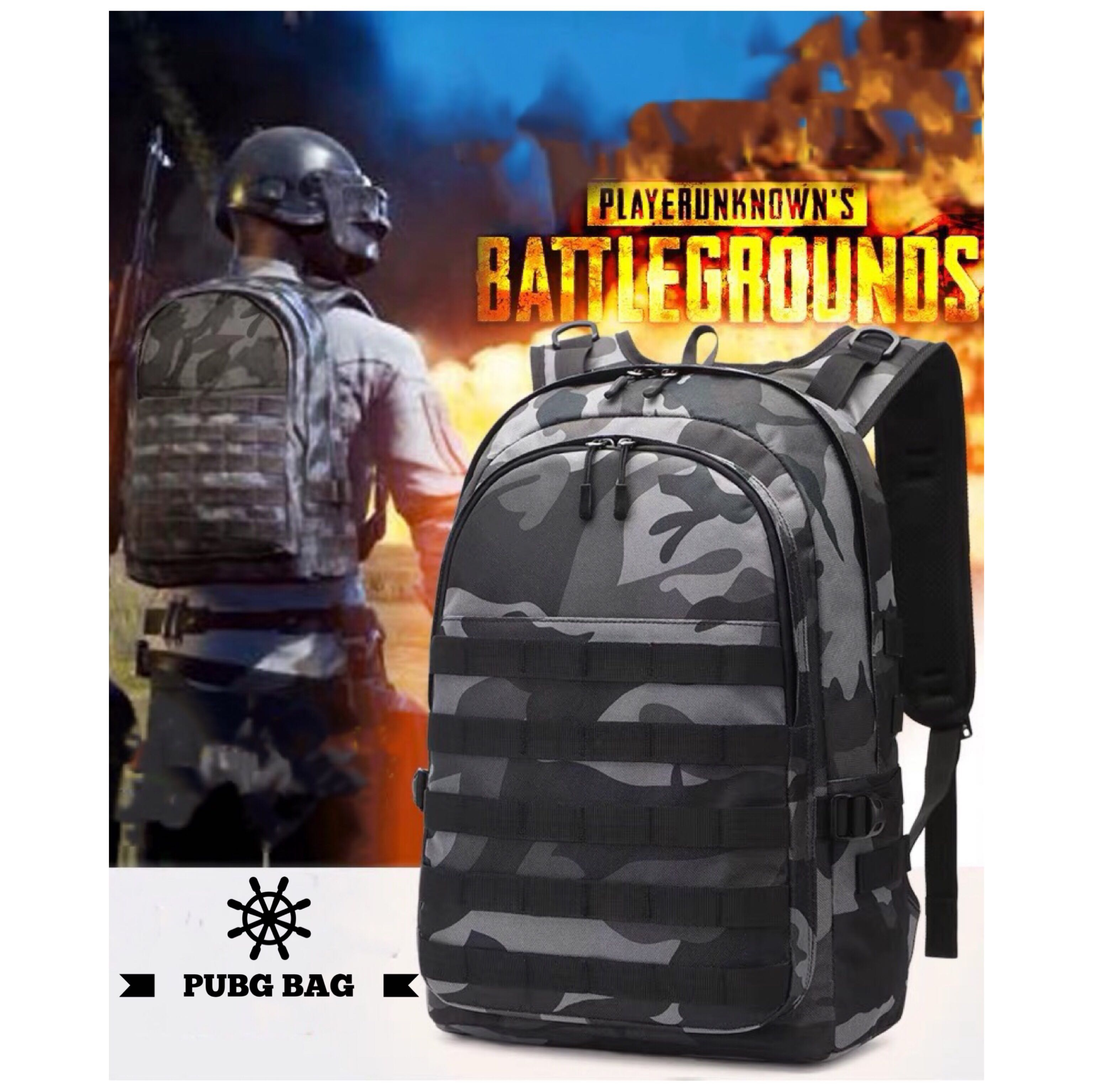 New Pubg Bag Men S Fashion Bags Wallets Backpacks On Carousell