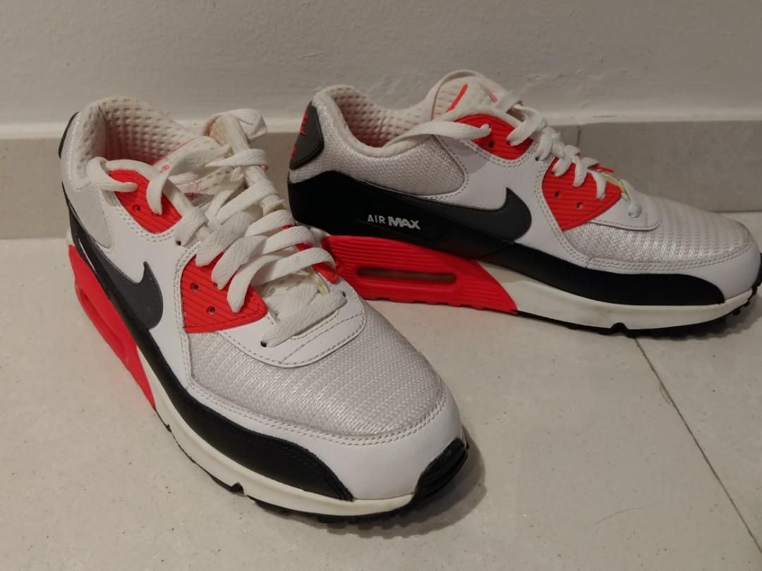 Nike Air Max 90 Infrared, Men's Fashion, Footwear, Sneakers