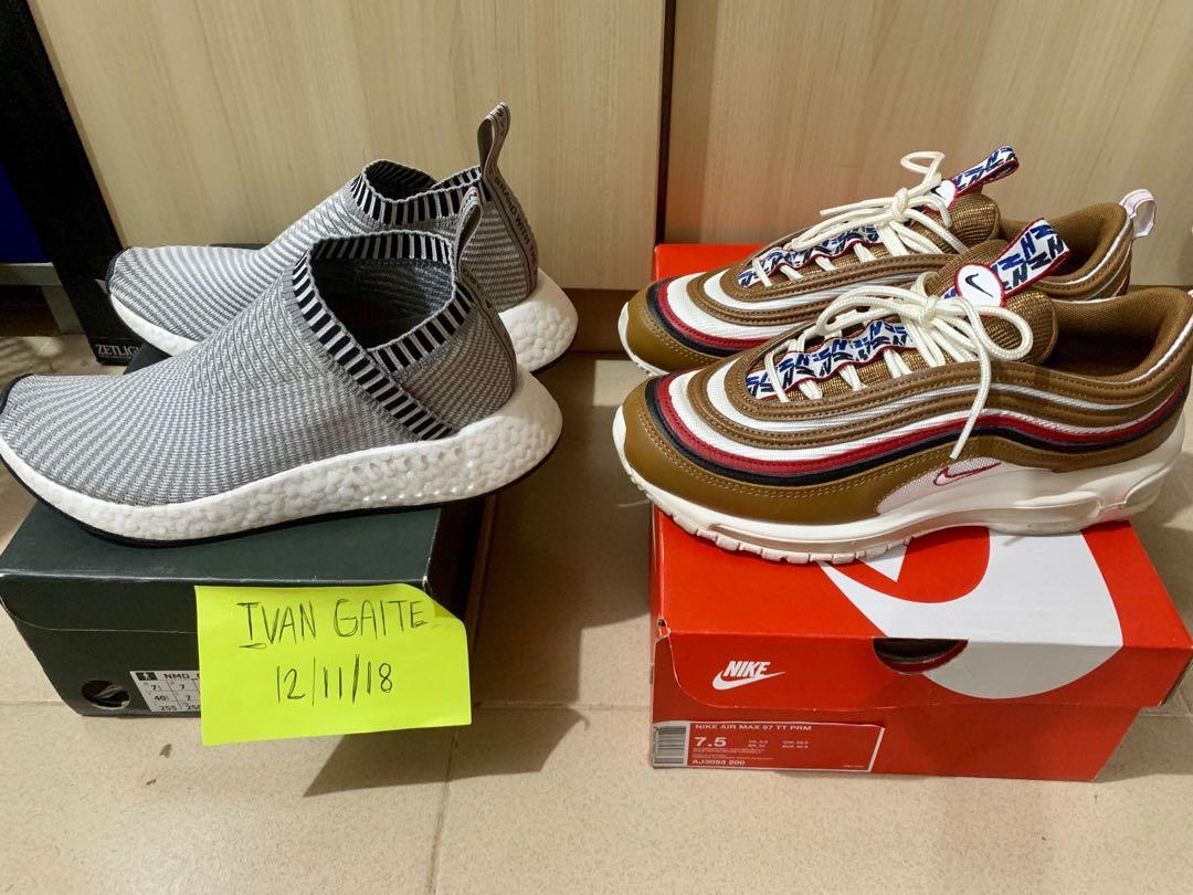 ac8ae310dd883 Nike air max 97 PRM & Adidas CS 2 PK all size 7.5 Mens, Men's ...