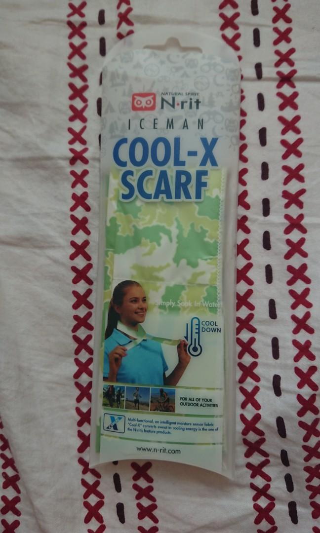 N-Rit Cool X Scarf 冰涼冰圍巾