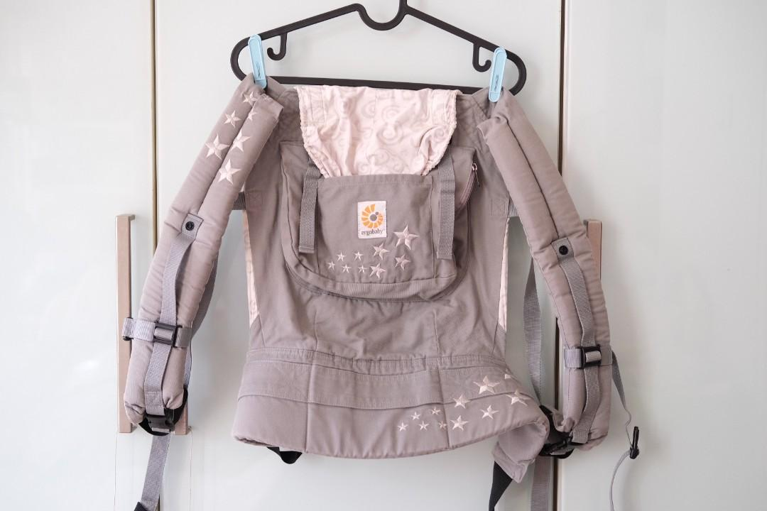 Original ErgoBaby Carrier Galaxy Grey  #ibuhebat