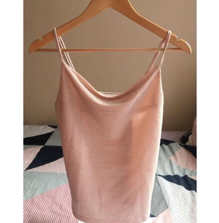 Pink sparkle top