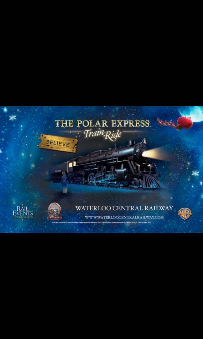 Polar Express Train Tickets
