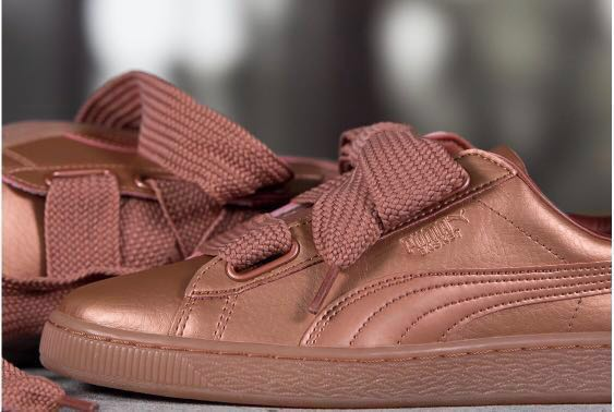 online store 0061c b902e Price can discuss⚠️99% NEW⚠️puma basket heart copper