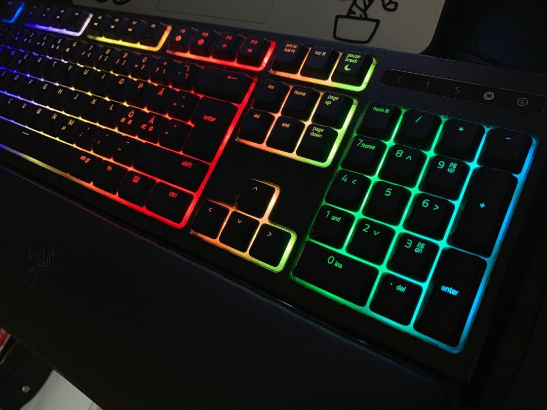 Razer Ornata Chroma Gaming Keyboard, Electronics, Computer