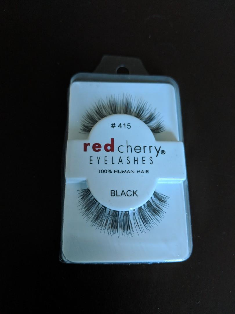 Red Cherry False Eyelashes #415 - $6 each pair (many available)