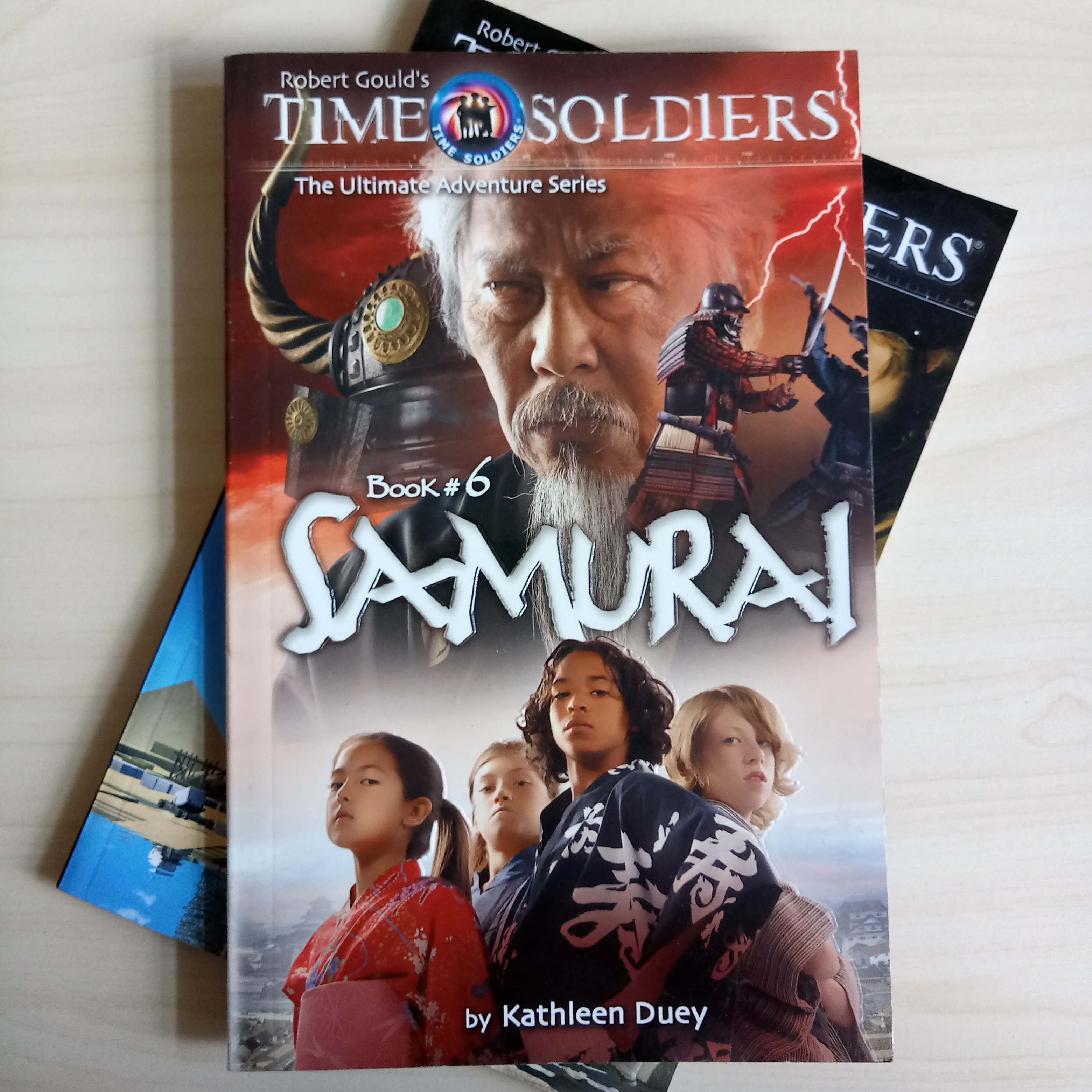 Robert Gould's Time Soldiers Book #6 Samurai (The Ultimate Adventure  Series) #1212