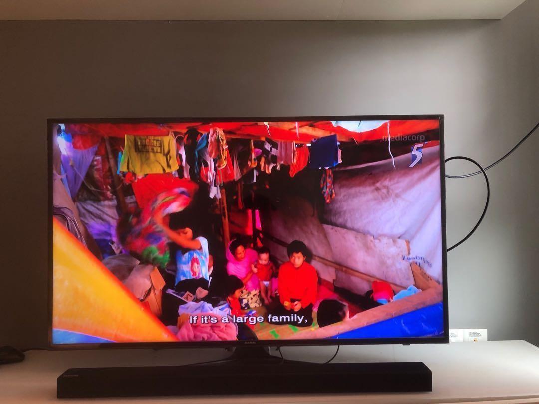 Samsung 50 inch Smart TV, Home Appliances, TVs
