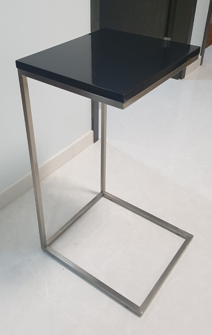 reputable site 5798a 85fc4 Sofa end table / L shaped side table