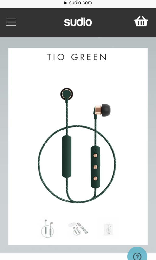 Sudio Tio 藍芽耳機