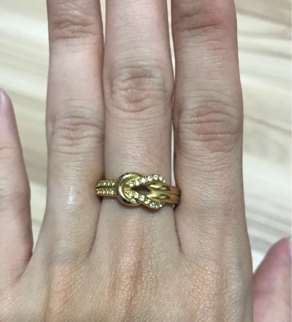 Swarovski Knot Ring c51d71d00cfb
