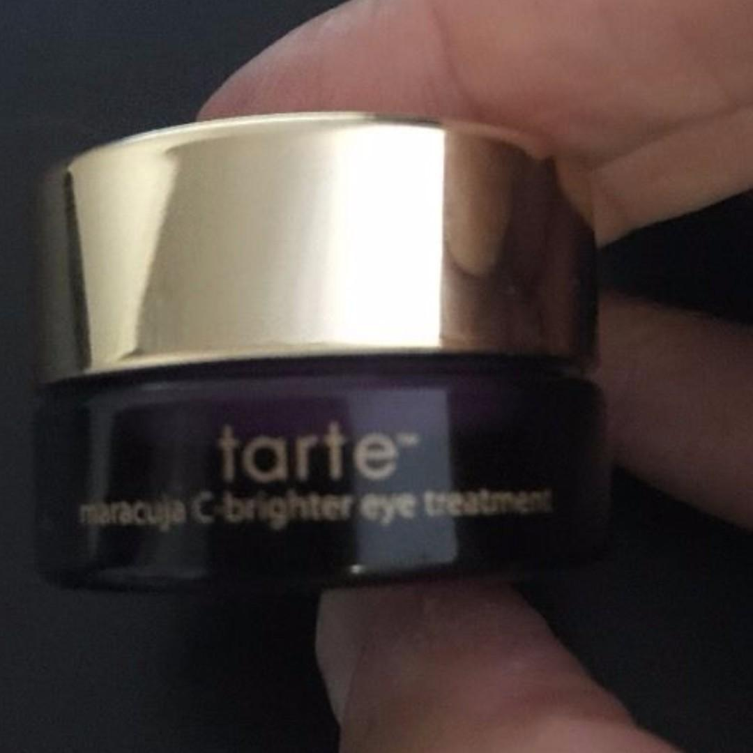 Tarte Maracuja C - Brighter Eye Treatment MINI TRAVEL SIZE 2.5g Brand New & Authentic (NO SWAPS, PRICE IS FIRM)