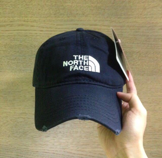 c2386b2ea82 The north face baseball cap navy blue