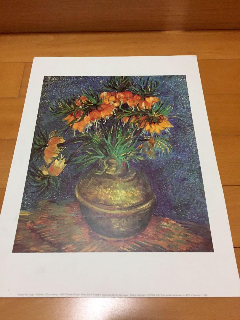 Van Gogh painting poster