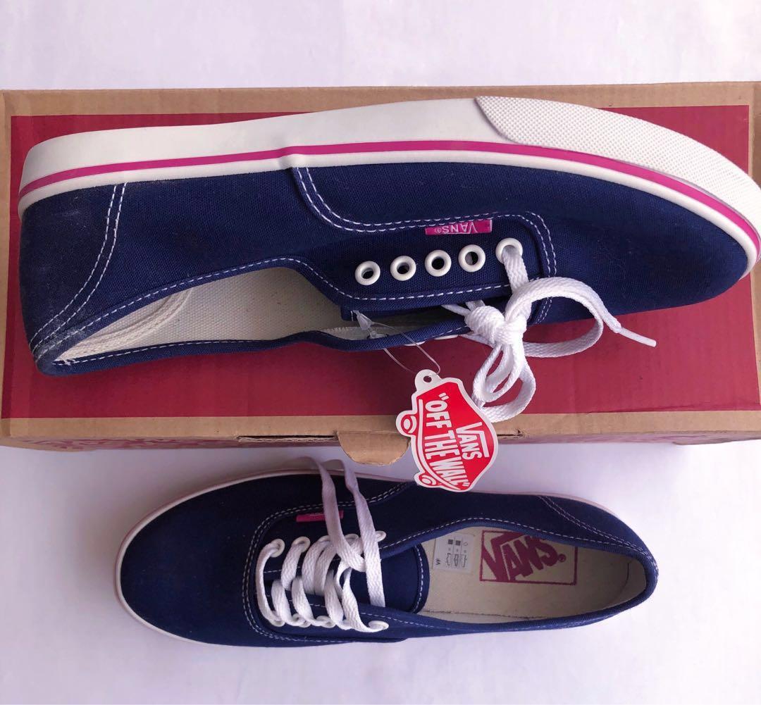 c14139086d Vans Authentic Lo Pro (Blue Depths Very Berry)