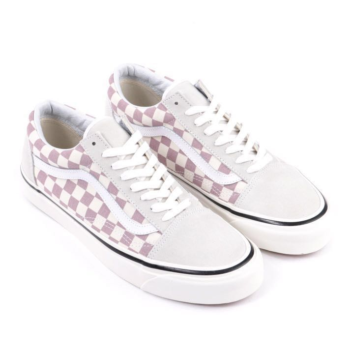 ed93a69c18f4 Vans Old Skool 36 Dx Anaheim Factory Pack In Mauve Checkerboard ...