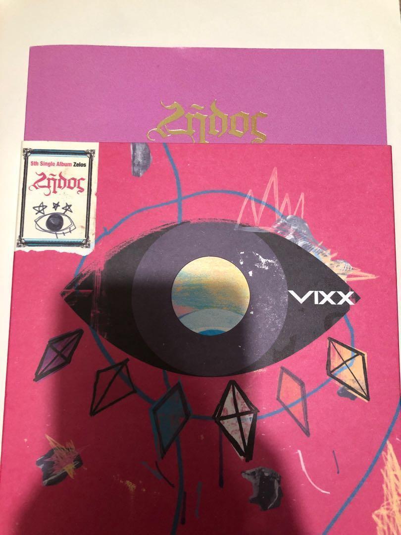 VIXX Zelos專輯(不包括小卡和海報)