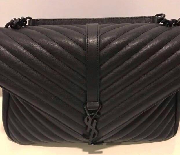YSL Large College Bag - Dust Bag   Card f1953e47ba58c