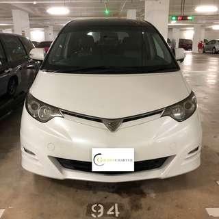 Toyota Estima CHEAP CAR RENTAL FOR PHV/PERSONAL