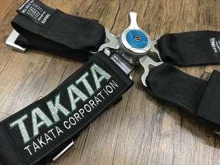 Black Limited TAKATA safety belt